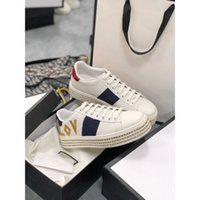 child 2021 selling design casual shoes white Ace green sneakers blue red stripes bee tiger snake love men and women large size 35-41