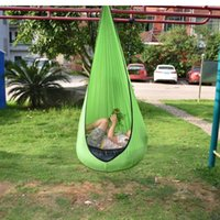 Swing Chair Hammock Kids Pods Single Home Children Creative Indoor Outdoor Garden Portable Hanging Seat 2021 Sleeping Bags