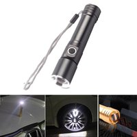 Flashlights Torches Zoomable Linterna Magnet Q5 LED 18650 Tactical Flash Torch Powerful 1600 Lumens Portable Outdoor Camping Ligh