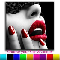 Sexy Nude Erotic Woman 50x50cm Home Decor Picture Print Wall Art Canvas Pictures 210203 8ZD7