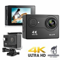 H9 Action Camera Ultra HD 4K 30fps WiFi 2.0-inch 170D Underwater Waterproof Helmet Video Recording Cameras Sport Cam Without SD card