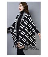 2021 women's letter shawl spring autumn fashion classic designer Cape loose Batman shirt luxury clothing