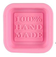 100٪ اليدوية الصابون قوالب diy ساحة سيليكون قوالب الخبز العفن الحرفية الفن صنع أداة ديي كعكة العفن HWE6598