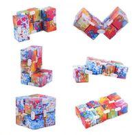 2021 Brinquedo Pop Fidget Unlimited Rubik's Cubo Best-seller Brinquedos Multi Color Atacado