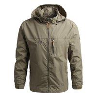 Designer Mens jacket fashion Design Spring Autumn High-quality Pocket Zipper Hooded Pattern Windbreaker Coat Thick Outdoor Sports Hoodie