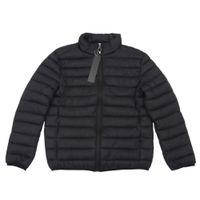 Concepteur hommes vestes mode de haute qualité mâle manteaux hiver vent-à-vent veste chaleureuse mai-glissière extérieure épaisse vêtement de sport vêtements de sport hommes tops vêtements vêtements