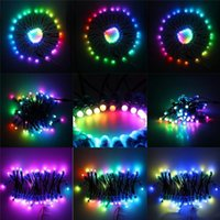 Edison 500pcs WS2811 IC Led Pixel Module Light 12mm Waterproof Point Lamp DC5V RGB String Christmas Addressable Lights for Letters Sign