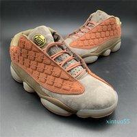 Clots X 13s Niedrige Terrakotta-Krieger Basketballschuhe für Männer Neu freigegebene Mens Designer Athletic Sports Turnschuhe mit Box AT3102-200