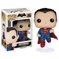 Funko Pop Superman 85 Feito à mão Modelo Encaixado Ornamentos