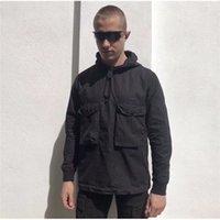 남성용 풀오버 후드 디자이너 자켓 outwear 꿈꾸는 꿈꾸는 재킷의 후드 재킷 코트 남성 의류