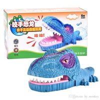 trick biting hand dinosaur finger biting animal toys and pulling teeth parent child creative interactive game toy 03
