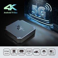 X96MINI 5G الروبوت 9.0 مربع التلفزيون الذكي X96 Mini Amlogic S905W4 رباعية النواة 2.4 جيجا هرتز 5G 2GB 16GB 1G / 8G مشغل الوسائط