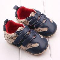 Yenidoğan Bebek Erkek Ayakkabı Bebek Bebek Tasarımcısı Ayakkabı Moccasins Yumuşak İlk Walker Bebek Ayakkabıları 0-18months