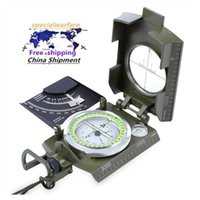 All-metal K4074 Multi-function Luminous Gradient Measurable Aluminum Alloy Compass with Nyl