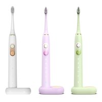 Sonic Electric Toothbrush Upgraded Adult Waterproof Usb Rechargeable 5 Modes Smart 2 min Timer Automatic Oral Brush