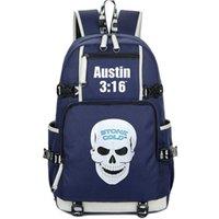 Plecak Steve Austin Stone Cold Daypack Wrestle Star SchoolBag Sport Rucksack Satchel School Bag Computer Day Pack