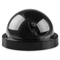 Simulation Security Fake Dome Dummy Camera With Flash LED Light Indoor Outdoor Simulated Video Surveillance Wireless IP Cameras