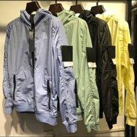 Topstoney Konng Gonng Primavera e Estate Giacca sottile Moda Cappotto di marca Modo Esterni Antifurto a prova di vento Abbigliamento solare Abbigliamento impermeabile2111