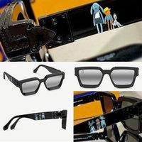 Occhiali da sole da 21SS Ultima moda 96006 Mens Classic Black Templi con stampa animalier femminile Occhiali quadrati femminili PURE BIANCO Top Quality Protezione UV400