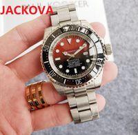 Luxury classic fashion automatic mechanical watch men size 44mm 904L stainless steel sapphire glass waterproof big designer wristwatch Christmas gifts