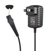 Cargador de afeitadora 12V Cable de alimentación para B Raun Series 7 9 3 5 1 Razor de afeitado eléctrico Reemplazo de afeitado P-Ower Adaptador (EE. UU. / UE / Reino Unido / AStandard)