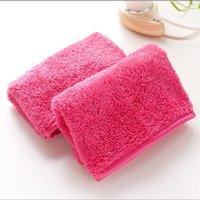 Microfiber полотенце женщины для снятия макияжа многоразовые полотенца для чистки лица ткань красоты аксессуары 1897 v2