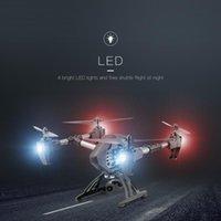 Top RC Quadcopter Helicopte JD-11 Aititud Hold 2.4G Cámara WiFi de 6 ejes Gyro 2MP HD FPV negro 150m Drones