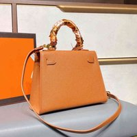 2021 Quality Luxurys handbag Top Designers woman Bags Version Berkin classic Ladies Chain Gold Silver Buckle Leather shoulder Female 8OU8