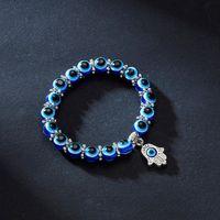 Bangle Bracelet Turkish s Blue Evil Eye Bead Men Women Handmade Lucky Jewelry Charm Female Dropshipping