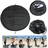 Pool & Accessories Waterproof Beach Bag Pouch Sports Polyester Mat Surfing Swimming Wetsuit Storage Carry Black Diving Suit Pack H4I4