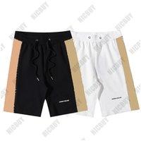 designer luxury Mens Shorts Sweatpants Womens flat plaid grid london england letter print Summer Pants Fashion casual cotton pocket breeches