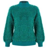 Женские свитера Beachapche Weater Женщины Turtleneck Pullover Jumper Imitted Mink шерстяной свитер вялый свободный промах Vestidos