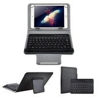 Wireless Bluetooth Keyboard For Tablet PU Leather Case Stand Cover +OTG+pen Pad 7 8 Inch 9 10 Keyboards