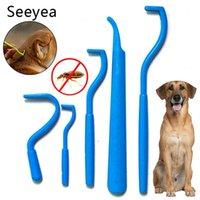 Dog Apparel Comb To Remove Lice Tools Cat Pet Removing Ticks Supplies Flea Processor Twist Hook Tweezers Dogs