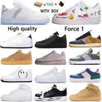 2021 Kuvvetler Erkek Kadın Koşu Ayakkabıları Satış Vintage Paten Sneakers 1 Tipi N.354 Kaktüs Jack TS REACT QS Işık Kemik Siyah Beyaz Kahverengi Keten Düz Açık Spor Kutusu Ile
