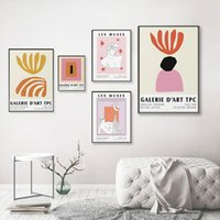 Paintings Abstract Algea Art Print Museum Poster Artwork Inspired By Matisse Modern Wall For Living Room Home Decor