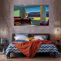 Западный мотель домашнего декора Картина маслом на холсте ремесла / HD Print Wall Art Picture Chateation настроен на заказ 21060425