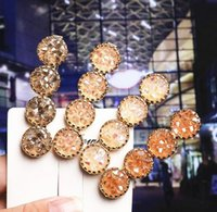 4 Colors Charm crystal Hair Clip Barrette Hairpin Women Girl Fashion Jewelry Hair Accessories Wedding Party Gift