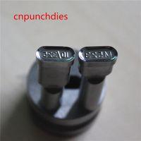 523 Numero Numero Candy Tablet Cuscinetto per cuscinetti Hard Parts Steel Press Tools Punch Stampo Stampo Stampo SET Personalizza per il TDP 0 / 1.5 / 5 Machine