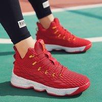 AN6684 Toptan Mans Basketbol Ayakkabı Kaliteli Erkekler Satılık Spor ayakkabı Deri Erkek Basketbollar Ayakkabı