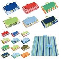 Pique-nique Camping Camping Pads Portable Plier Plage Tapis Oxford Tissu Tapis Tapis Tapis d'extérieur 21 Couleurs 145 * 180cm YL597