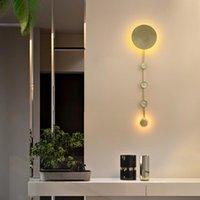 크리스탈 벽 램프 LED 프린세스 룸 침대 옆 침실 식사 라이트 거실 룸 조개