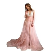 2021 Ruffle Evening Dresses V Neck Long Sleeves Mother And Puffy Tiered High Low Skirt Dress for Kids Mommy & Me Wear Custom Made