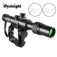 Svd 3-9X26 Scope Tactical Rifle Scopes Red Illuminated Optical Sight Ak Airsoft Spotting Riflescope for Rifles Hunting