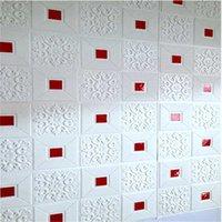 Fondos de pantalla 3D Ladrillo Techo Techo Etiqueta Etiqueta Fondo Fondo Fondo de pantalla Decoración Sala de estar Dormitorio TV Decora