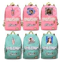 Backpack Mochilas Charli Damelio Book Rucksacsk Girls School Bag Women Laptop Knapsack Students Backpacks Teens Schoolbag