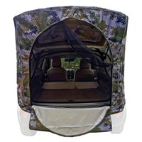 Tents And Shelters Car Trunk Tent Sunshade Rainproof Tour Barbecue Outdoor Self-driving Camping Tail Extension Shade