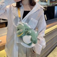 2021Plush Puppen Kissen Dinosaurier Rucksack Cartoon Plüsch Spielzeug Liebe Tier Urlaub Kreative Geschenk Großhandel Großer Rabatt XZ01