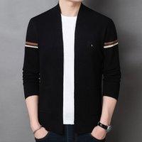 Свитера вязаные 2021 осень мужской досуг с длинным рукавом свитер молодежь модный кардиган KL-A63-20106