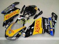 Bodywork Injection Fostings Kit Verkleidung Kits für Ducati 999 749 999s 749s Cowlings 2003 2004 03 04 Kostenlose Benutzerdefinierte Geschenk Nein Back Cover Blau Gelb Schwarz